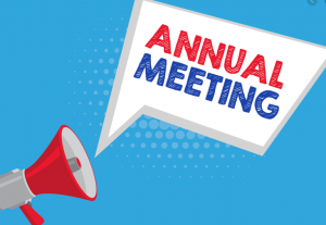 Annual Meeting  at 7pm tonight