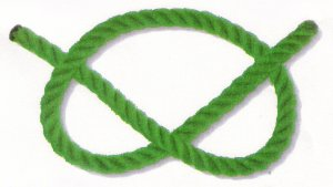 a looped rope
